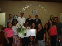 Personalidades do município recebem homenagem do Poder Legislativo