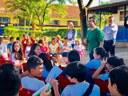 """Escola do Legislativo realiza projeto """"Compartilhando Vivências"""""""