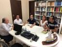 Legislativo visita órgãos de imprensa da cidade